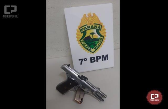 ROTAM prende três indivíduos e apreende arma de fogo em Cruzeiro do Oeste