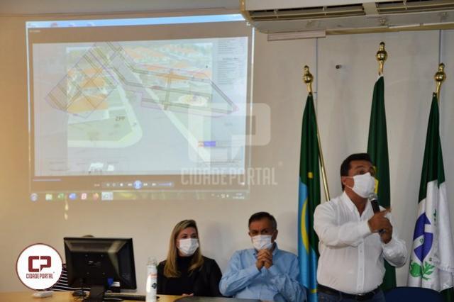 Prefeito Betinho Lima anunciou projeto habitacional com 504 casas para Goioerê