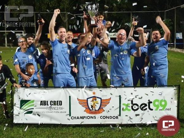 Equipe Manchester City é campeão da Condor Champions League em Goioerê
