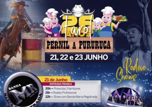 Festa do Pernil a Pururuca será entre os dias 21 e 23 de junho para comemorar os 26 anos de Farol