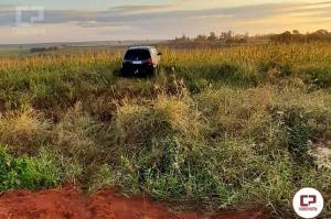 Veículo roubado em Juranda é encontrado em zona rural de Moreira Sales