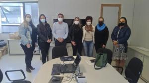 Equipe da Secretaria de Assistência Social de Goioerê recebeu capacitação na SEJUF
