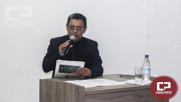 Vereador José Soares pede licença para assumir secretaria municipal de segurança