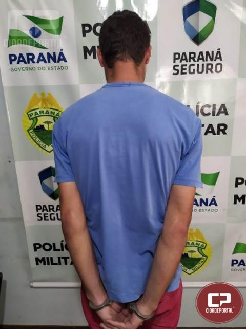 Polícia Militar cumpre mandado de prisão em Terra Boa