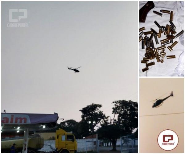 Uma pessoa foi presa por posse irregular de munições em operação entre PM e PC na cidade de Moreira Sales