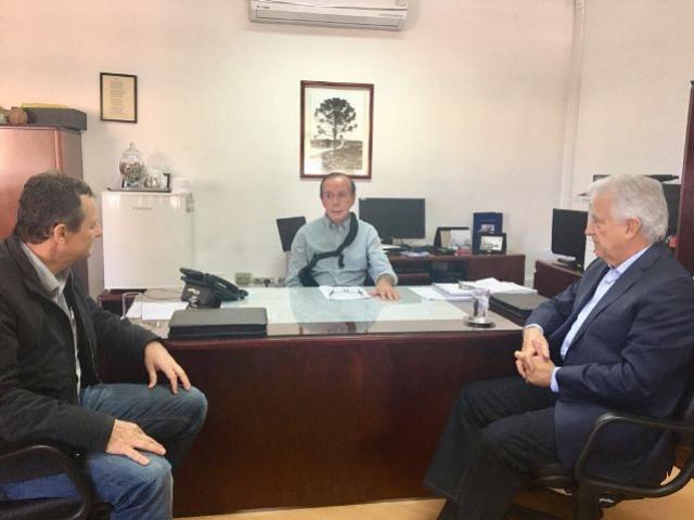 Prefeito Pedro Coelho cobra posição oficial do Denit para a readequação do trevo de acesso a Goioerê