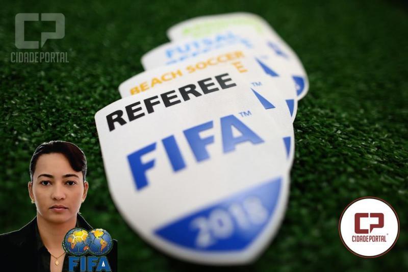 Árbitros recebem insígnias da FIFA nesta terça, a goioerense Edina Alves esta na Lista