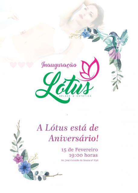 Lótus Beleza e Estética reinaugura em novo endereço nesta sexta-feira, 15