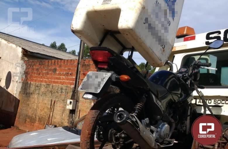 Polícia Militar de Goioerê recupera motocicleta furtada poucas horas depois do fato