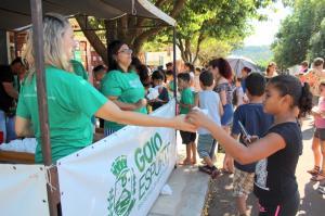 Manhã Recreativa atraiu dezenas de crianças e adolescentes em bairros de Goioerê