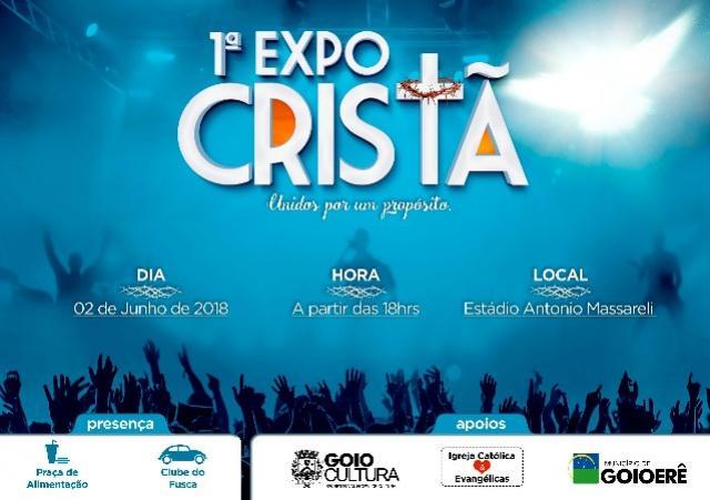 Aberta as inscrições artísticas musicais para a 1ª Expo Cristã de Goioerê