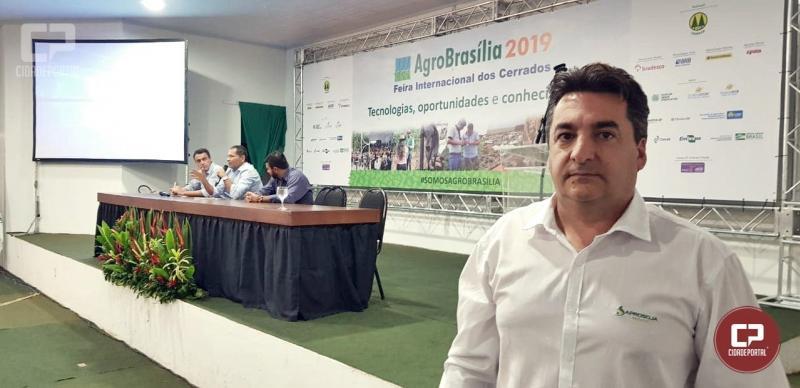 Marcio Bonesi, prestigiou o Seminário Economia Agrícola em Brasília nesta quarta-feira, 15