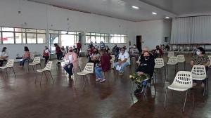 Secretaria de Saúde de Goioerê vacinou 268 pessoas contra o covid-19 nesta sexta-feira, 14