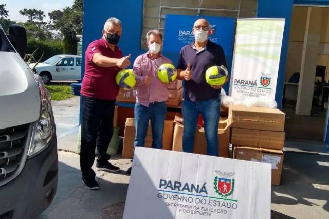 Estado repassa materiais esportivos a municípios, associações, escolas e Apaes