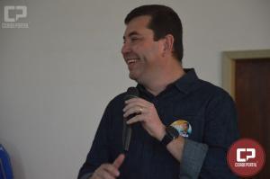 Delegado Fernando, pré-candidato a Deputado Estadual foi recepcionado em Goioerê