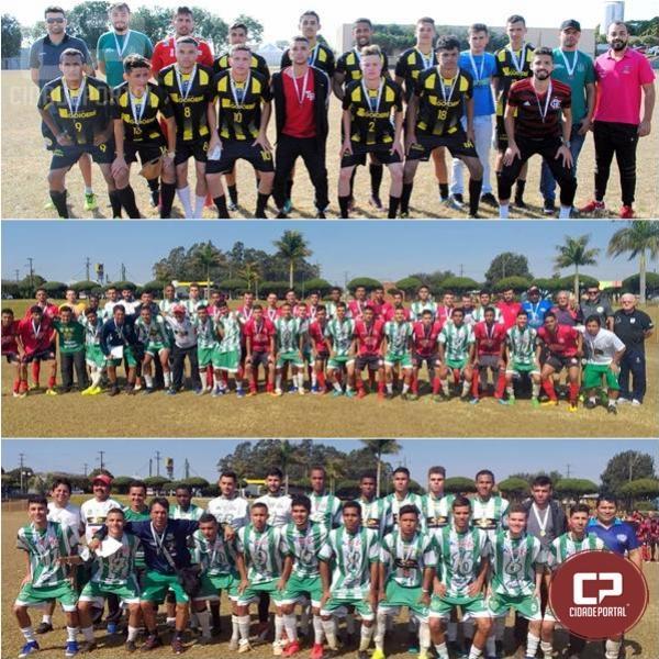 No futebol dos JAPS, Goioerê é bronze, Moreira Sales é prata e Campo Mourão é ouro