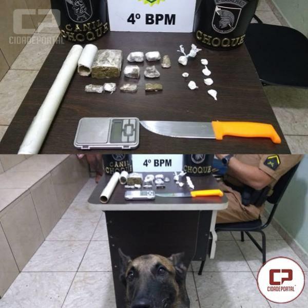 Polícia Militar cumpre mandado de prisão e detém indivíduos por tráfico drogas em Maringá
