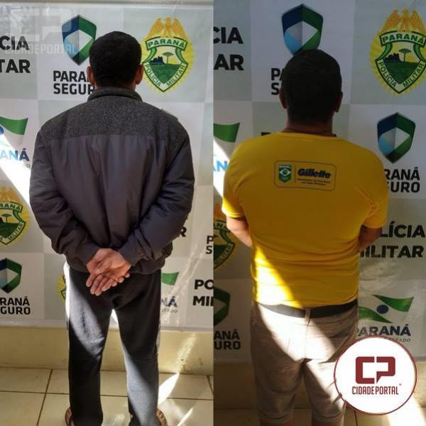 Polícia Militar de Cianorte cumpre dois mandados de prisão em menos de uma hora