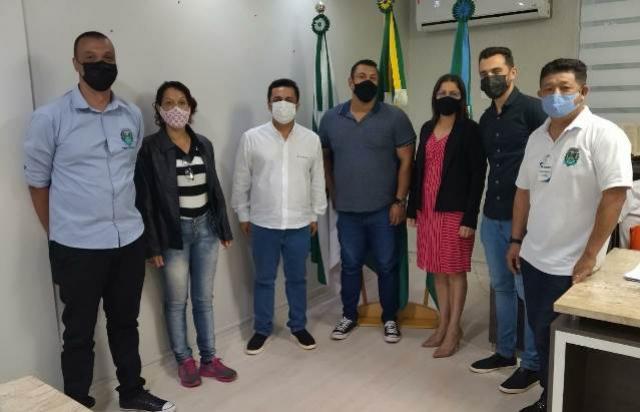 Diretoria da AMAA se reuniu com prefeito e vereadores de Goioerê