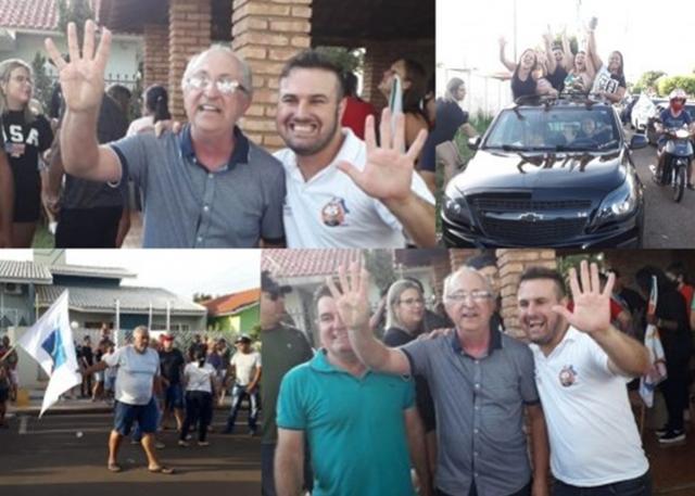 Aristeu Ceniz vence eleição em Rancho Alegre do Oeste