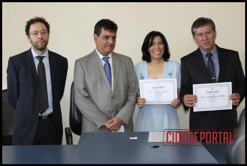 A diplomação dos candidatos eleitos em Rancho Alegre do Oeste, aconteceu na manhã desta quinta-feira, 15