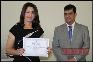 A diplomação dos candidatos eleitos em Rancho Alegre do Oeste, aconteceu na manhã desta quinta-feira, 15 - ANGELA MARIA FIOROTTO