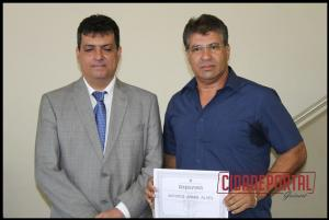A diplomação dos candidatos eleitos em Rancho Alegre do Oeste, aconteceu na manhã desta quinta-feira, 15 - ANTONIO AMARO ALVES