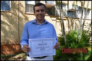A diplomação dos candidatos eleitos em Rancho Alegre do Oeste, aconteceu na manhã desta quinta-feira, 15 - AUGUSTO DE SOUZA CAMPOS