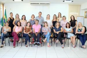 Prefeito Pedro Coelho recebeu na manhã desta sexta novas diretoras eleitas