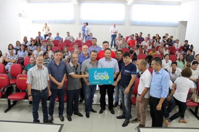 Quatro escolas estaduais de Goioerê foram beneficiadas com o programa Escola 1000