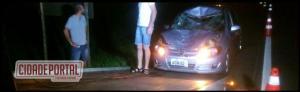 Um veículo com placas de Juranda se envolveu em um acidente próximo ao Distrito de Piquirivaí