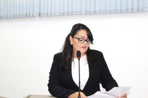 Vereadora suplente assume cadeira na Câmara Municipal de Goioerê.