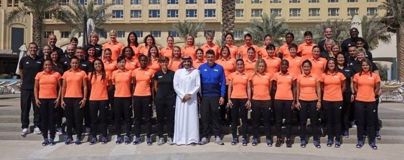 Edina Alves participa de treinamento da FIFA no Catar