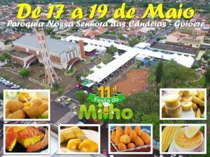 11ª Festa do Milho começa nesta sexta-feira, 17, às 20h