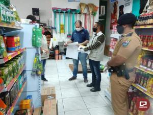 7º BPM participa de mutirão contra o Coronavírus em Cruzeiro do Oeste
