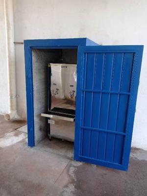 Bebedouro foi instalado no Camelódromo de Goioerê nesta quarta-feira, 16