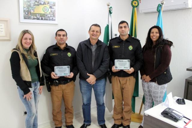 Polícia Militar recebe homenagem pelo trabalho desenvolvido no programa PROERD