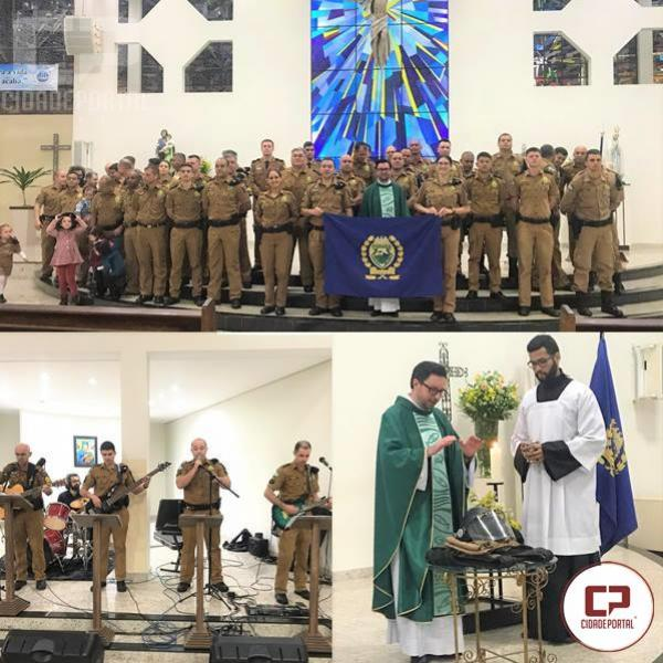 7° BPM comemora o 165º Aniversário da Polícia com Culto e Missa de ação de graças