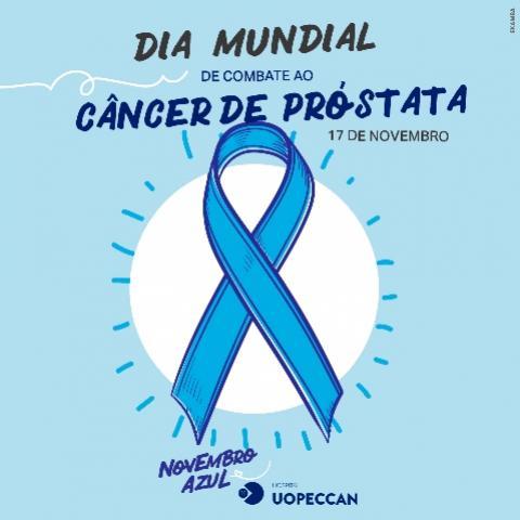 Novembro Azul: incentivo ao combate do câncer de próstata