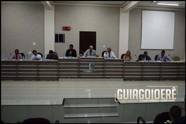 Indicações e Requerimentos que foram apresentados pelos vereadores de Goioerê nesta segunda-feira, 19