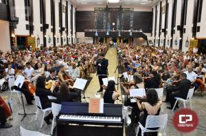 Maratona de Oração por Goioerê teve encerramento com Orquestra de Câmara da UEM