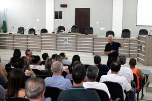 Rubens Bueno prestou contas à dezenas de eleitores goioerenses
