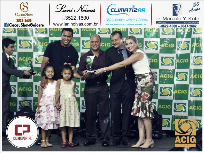 Jv Áudio recebeu Prêmio ACIG - Melhores do Ano de 2017