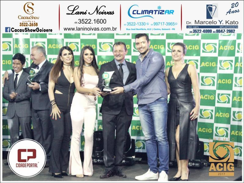 Lojas Cell Center recebe duas indicações ao Prêmio ACIG - Melhores do Ano de 2017