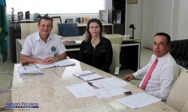 Vereador Agilson Flausino agenda visita do deputado Sergio Souza à Goioerê