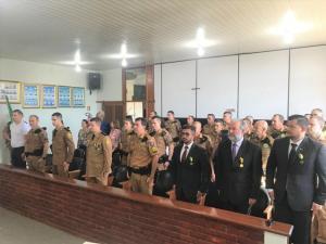 7º BPM realiza solenidade militar em homenagem ao dia de Tiradentes em Cruzeiro do Oeste