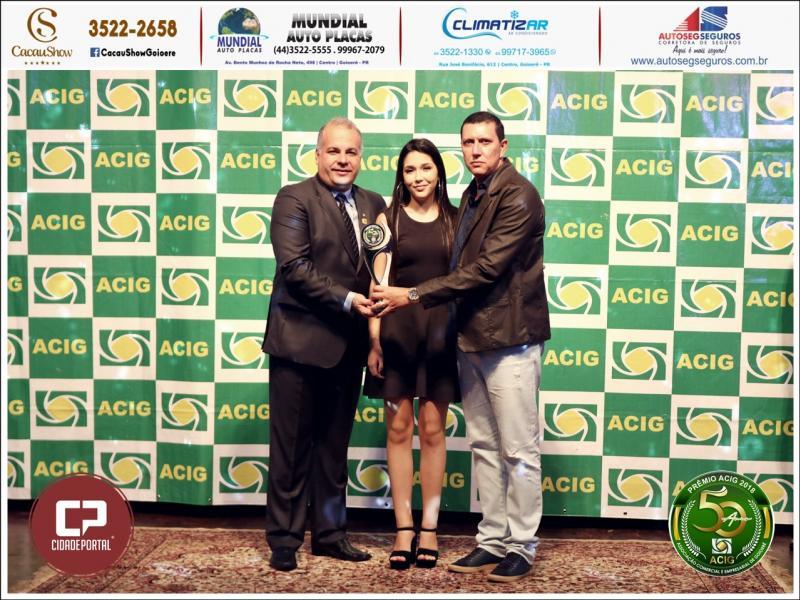Academia Souza recebe prêmio Acig Melhores do Ano 2018