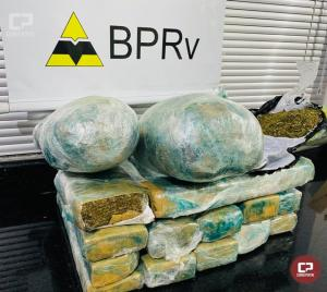 Polícia Rodoviária Estadual de Cruzeiro do Oeste apreende drogas em ônibus de linha