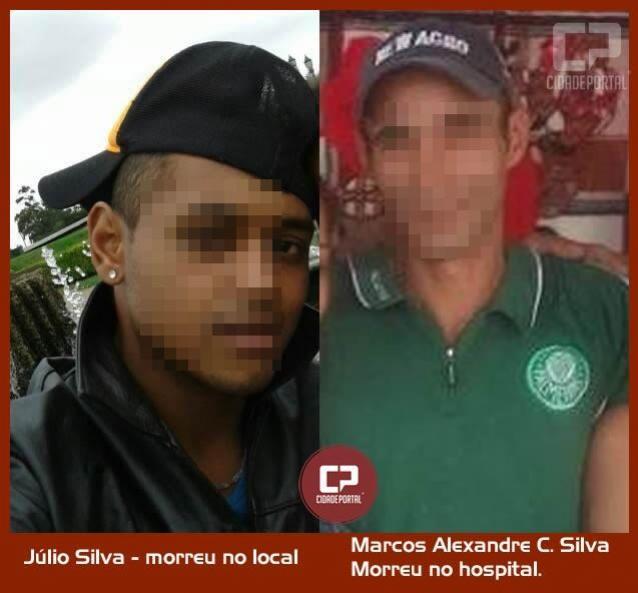 Duas pessoas mortas a tiro e uma ferida em Juranda na noite deste sábado, 16