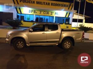 Polícia Rodoviária Estadual de Iporã prende dois indivíduos e recupera veículo GM-S-10